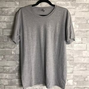 American Apparel Gray T-shirt Size Large